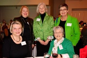 CCH Guests: Jean Nettlaufer, Peggy Harcourt, Kathy Lawday, Margot Heinrich and Eileen Chewter