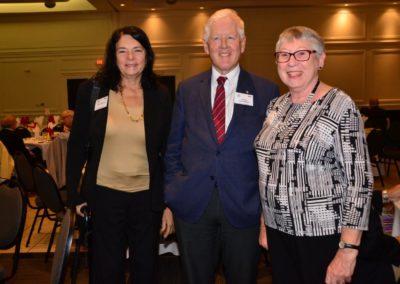 Bob & Arlene Rae with Margaret Perschy