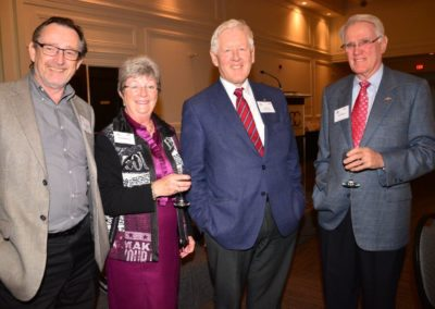Alan Johnston, Brenda & John MacKay with Bob Rae