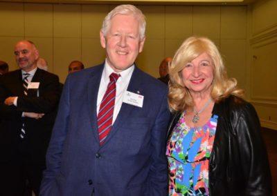 Bob Rae with Marishka Glynne